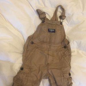 Little boy Oshkosh overalls